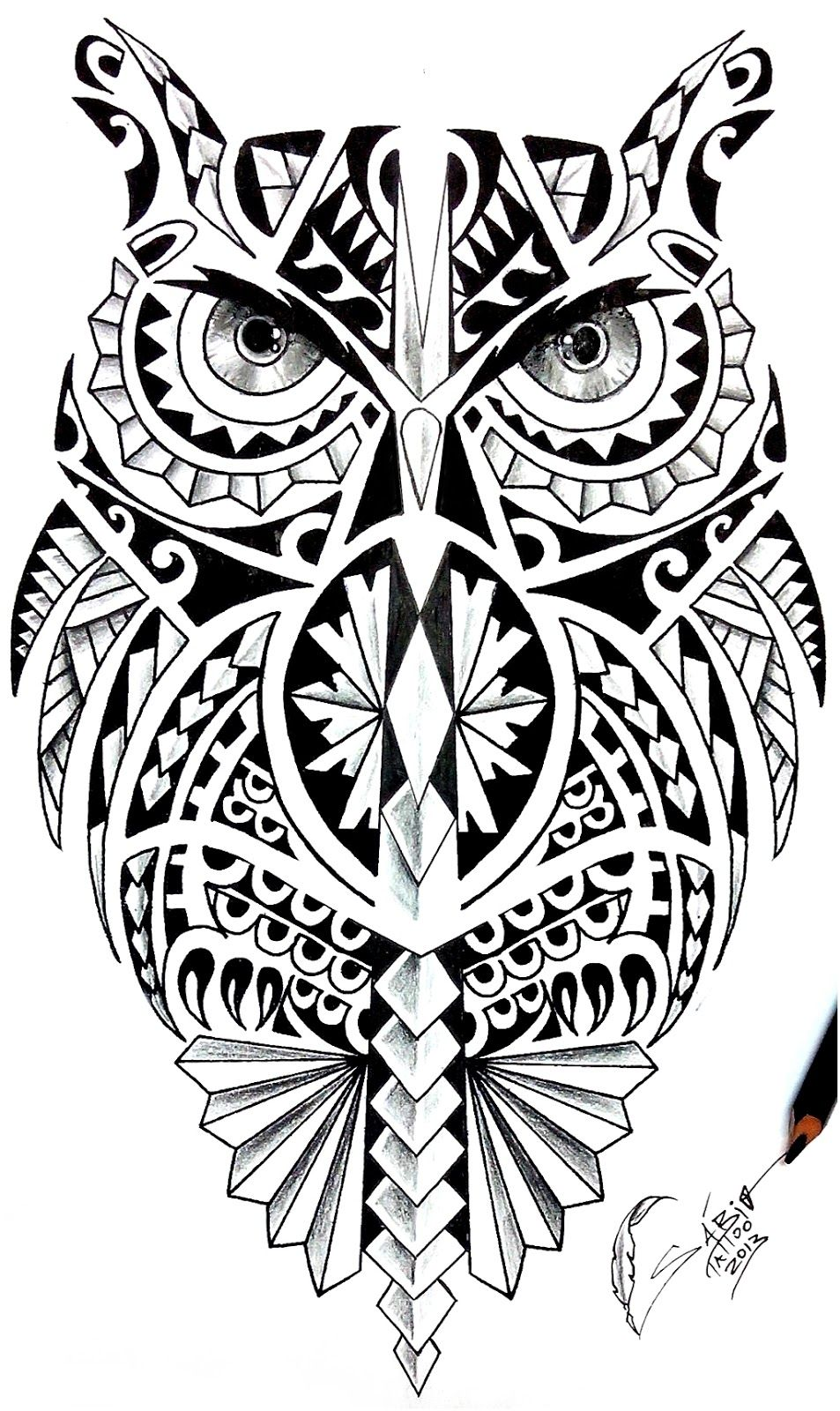 Sabio Tattoo Tatuagem Profissional Sabio Tattoo Desenhando Maori - Dibujos-maoris