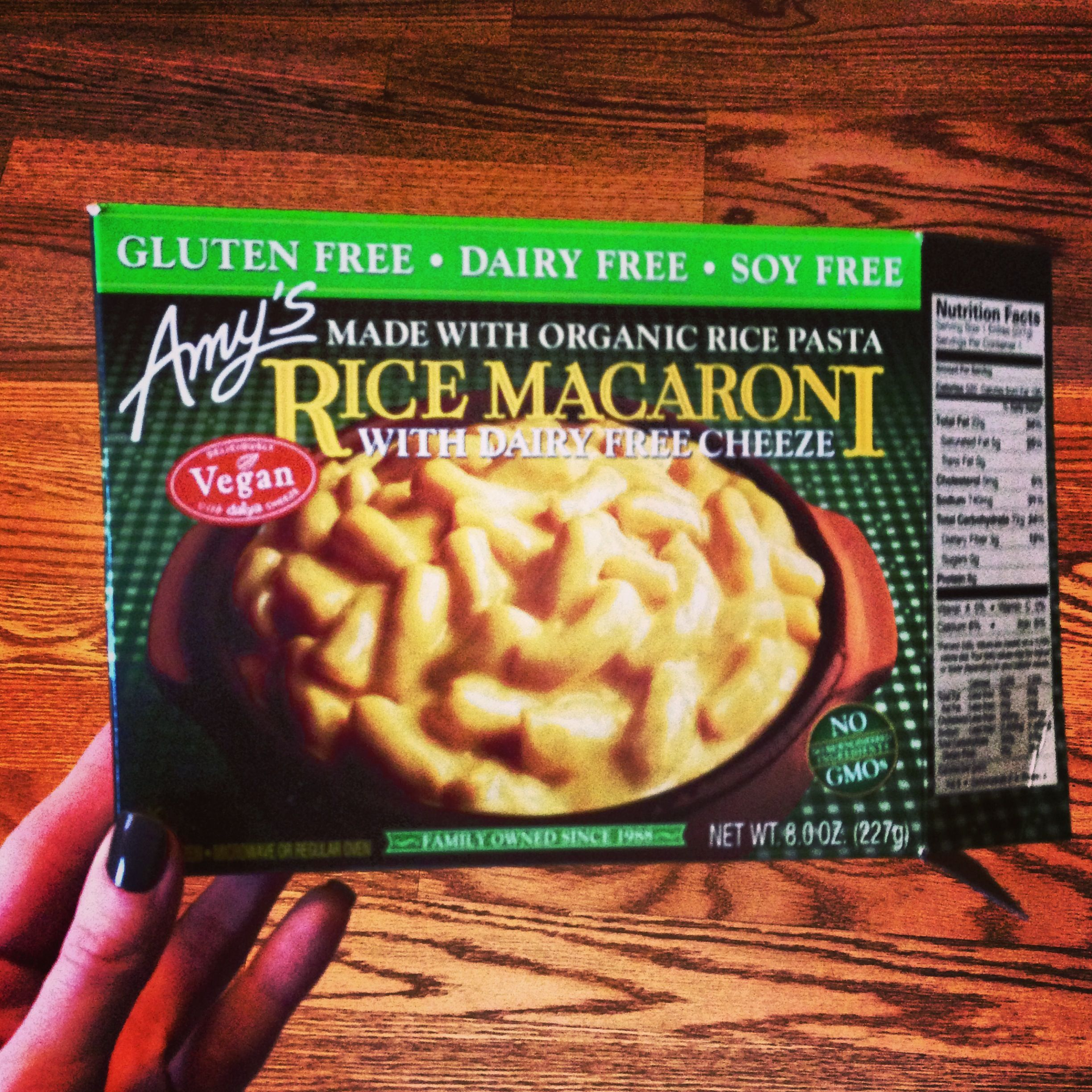 Amy S Organics Vegan And Gluten Free Mac N Cheese Delicious Vegan Food Brands Gluten Free Dairy Free Gluten Free Quinoa Recipes