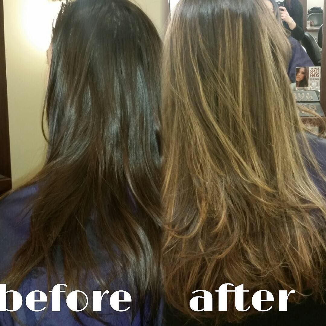 Before And After Done By Katie At Radura Salon And Spa In Manchester