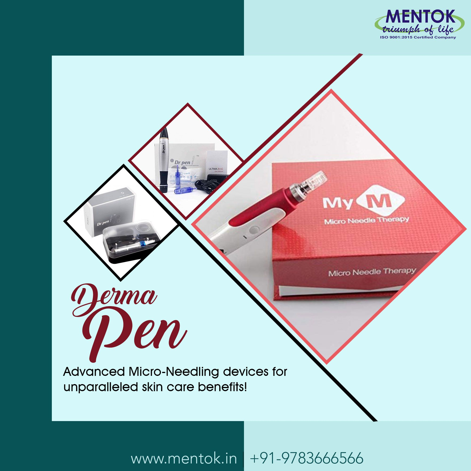 Derma Pen Advanced MicroNeedling devices for