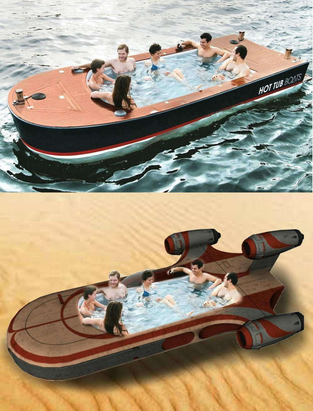 Hot Tub Boat Of Today And Tomorrow Meme Collection Boat Hot Tub Tomorrow