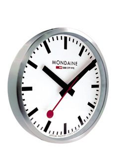 Mondaine Wall Clock 250mm Swiss Railway Wall Clock Mondaine Wall Clock Large Wall Clock