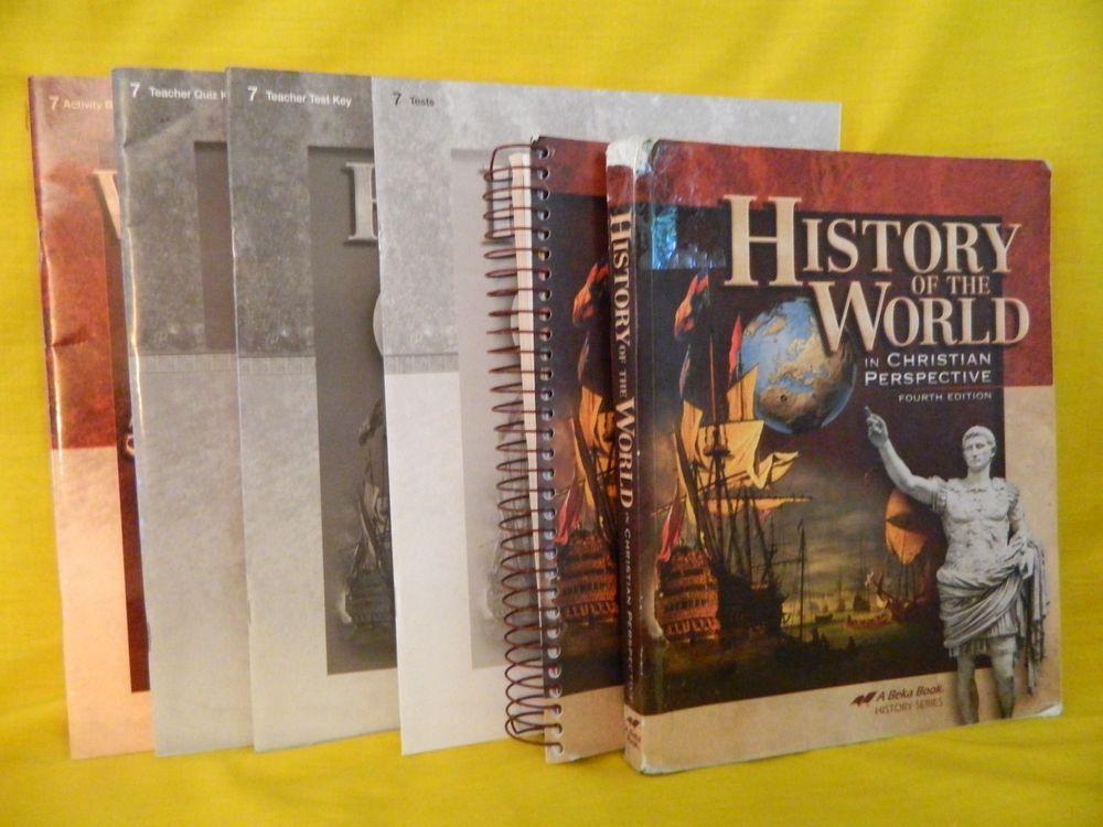 Abeka History Of The World Student Teacher Test Key Ebay