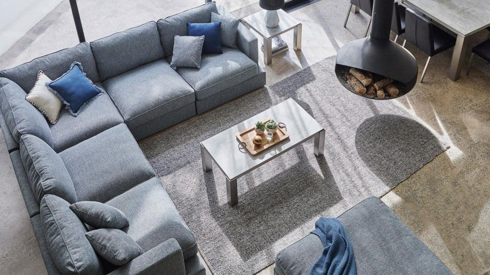 Buy Salta Fabric Modular Lounge Suite Harvey Norman Au In 2020