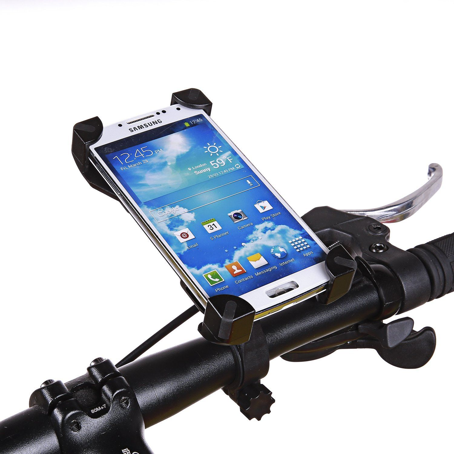Amazon Com Bike Mount Universal Bicycle Phone Holder Cycle