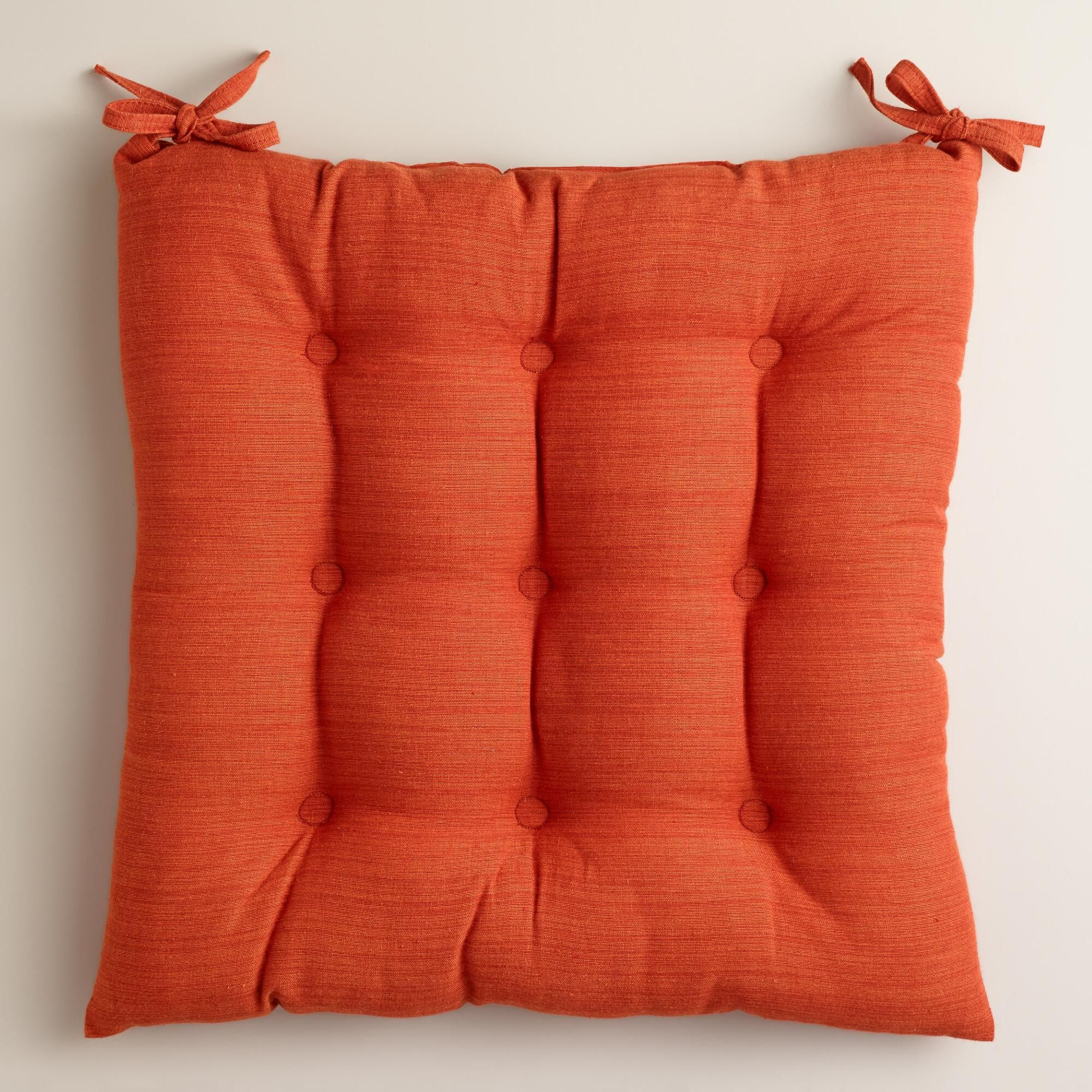 1124 Spice Khadi Chair Cushion