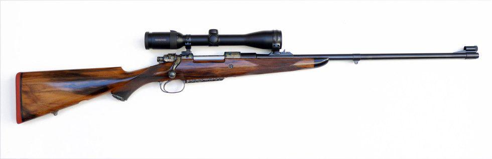 Dorleac & Dorleac De Luxe Plains Game Rifle .300 HH.Magnum Rimless  