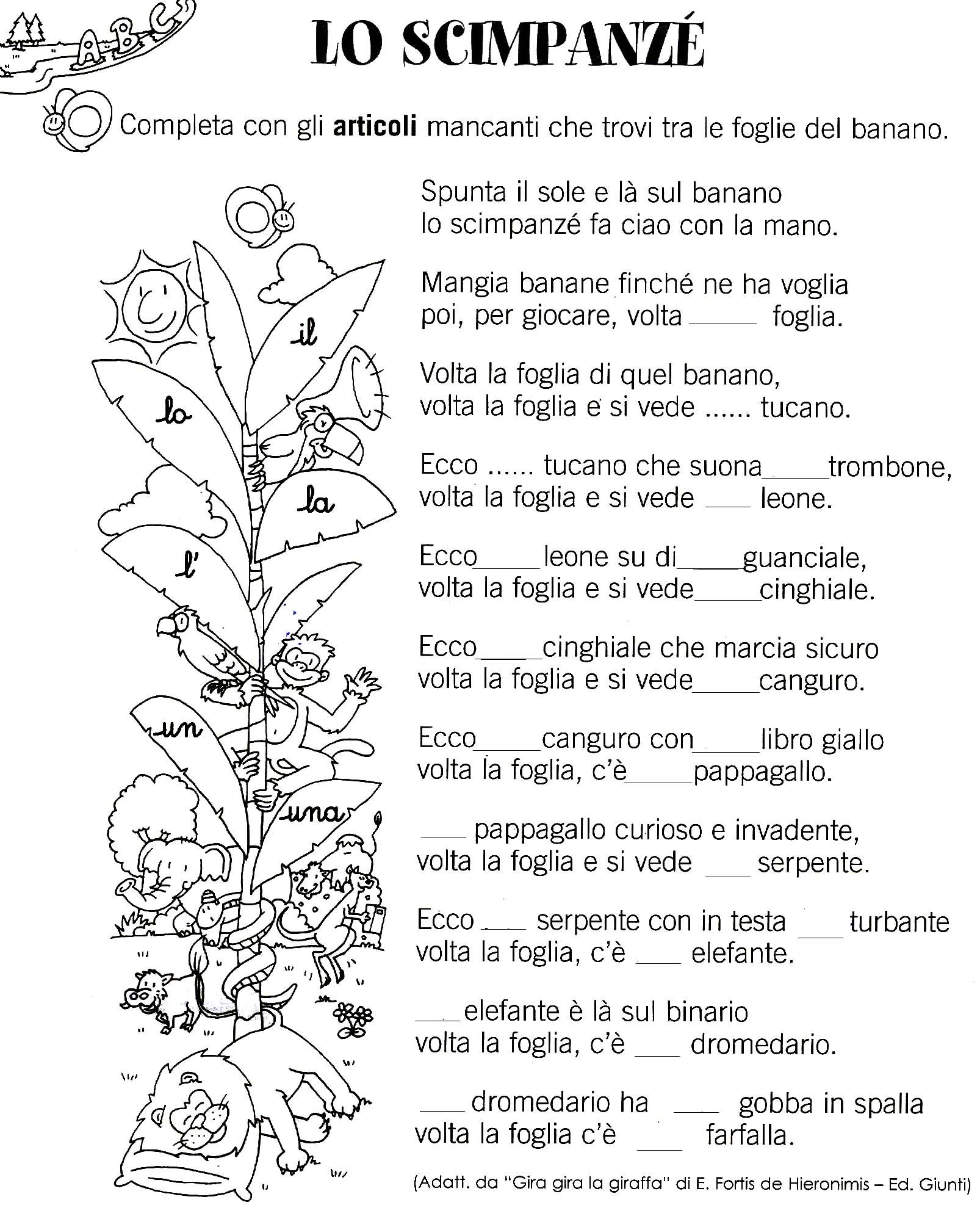 Free Worksheet Italian Worksheets pin by maestra cri on morfologia primo ciclo pinterest