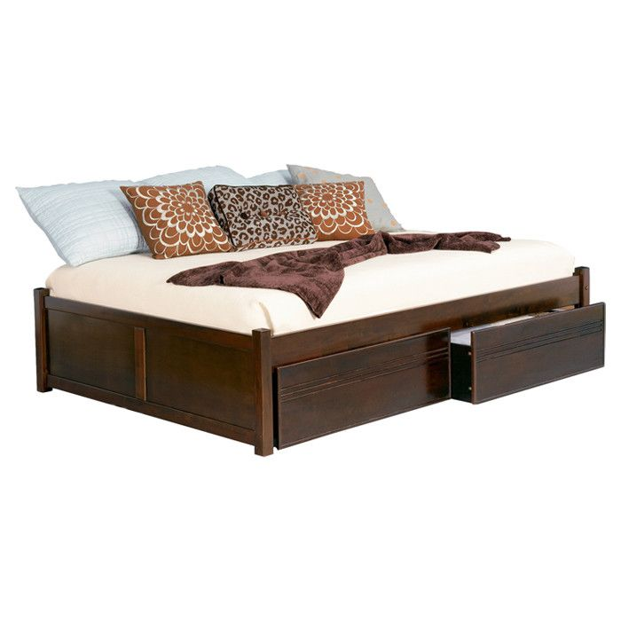 Concord Bed in Antiqued Walnut | Veeeeeegan... | Pinterest