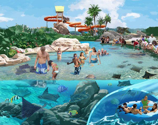 Aquatica San Antonio Ke Re Reef Seaworld San Antonio Orlando Theme Park Tickets Water Park