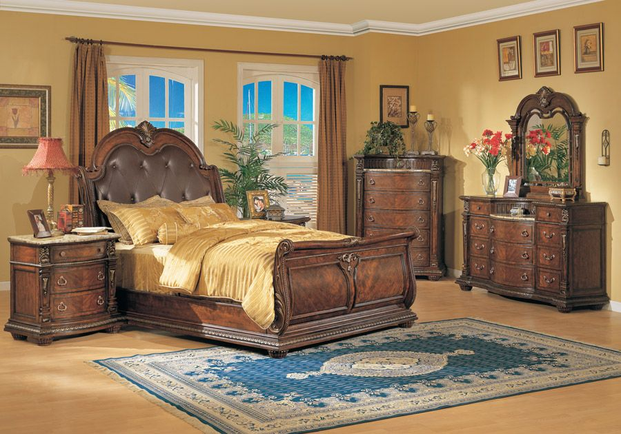 Coventry 5 Pc Queen Bedroom Bedroom Sets Furniture King King