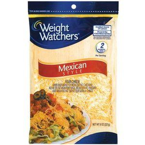 photograph regarding Weight Watchers Printable Coupons known as Bodyweight Watchers Mexican Design Shredded Cheese, 8 oz