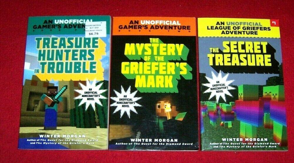 minecraft chapter book series