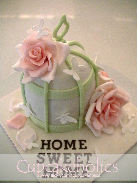 Bird Cage Cake by Cupcakeholics, via Flickr