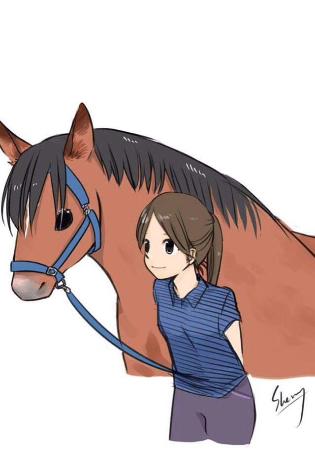 Wallpaper Fond D Ecran Horse Cheval Fond D Ecran Dessin Dessin Kawaii Dessin Cheval