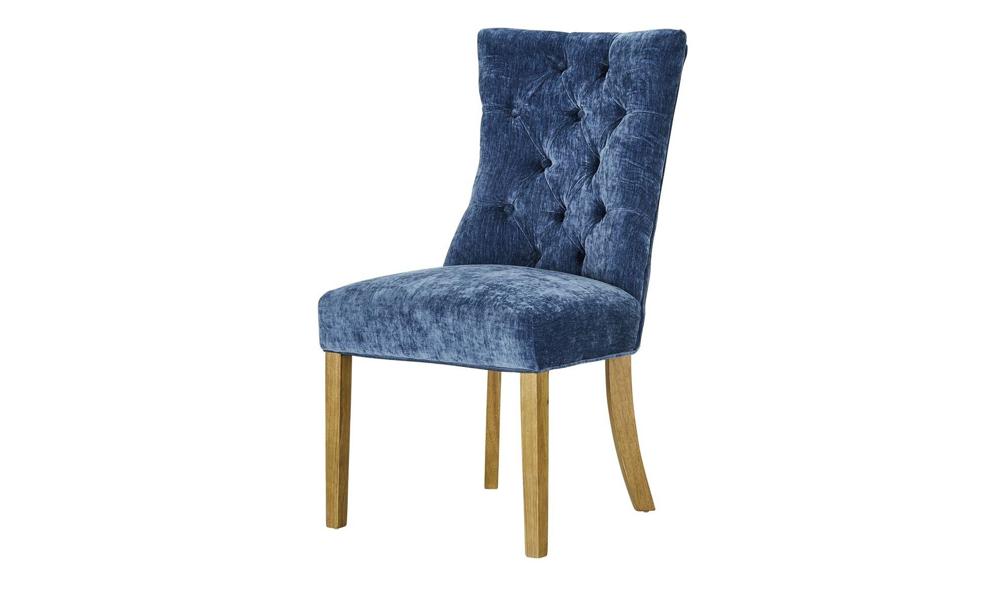 Stuhl Hennig ¦ blau ¦ Maße (cm): B: 56 H: 99 T: 66 Stühle ...