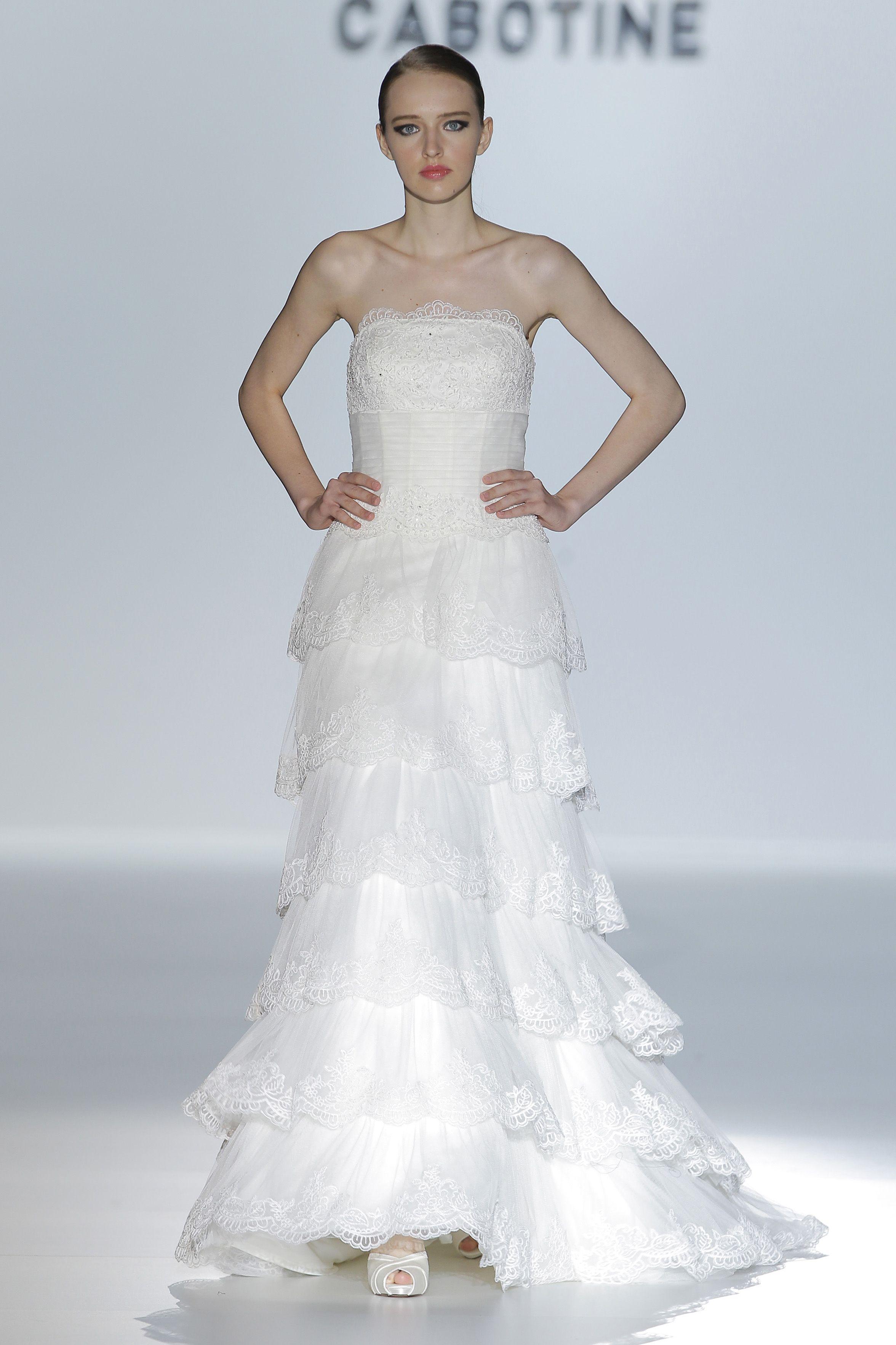 Desfile de Cabotine en Barcelona Bridal Week 2013 | Moda nupcial ...