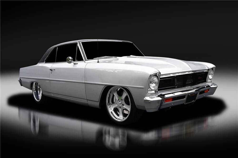 1966 CHEVROLET CHEVY II NOVA CUSTOM 2 DOOR COUPE | NASCAR and CARS I