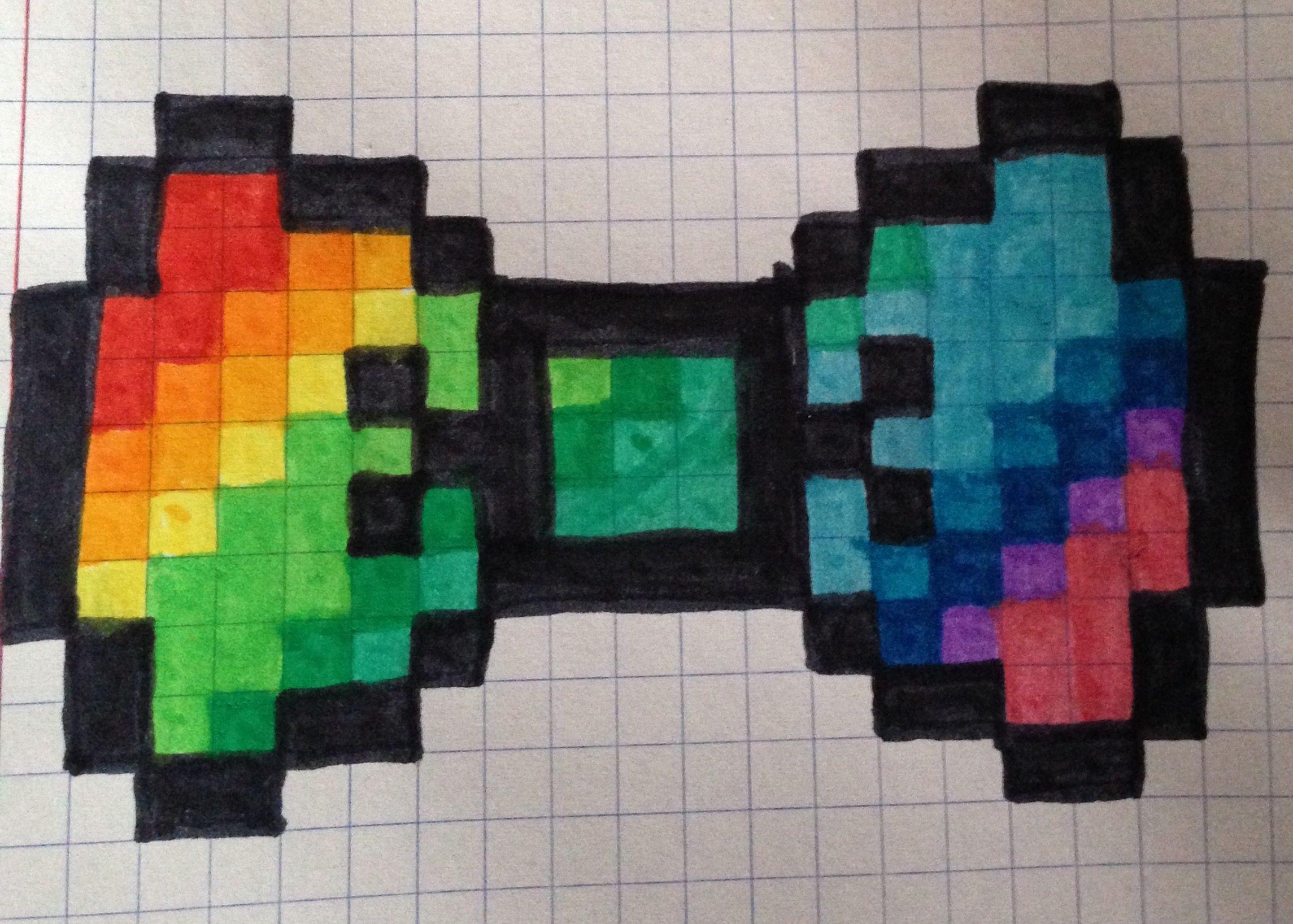 Papillon crafts fuse beads t Pixel Art Minecraft pixel art - Pixel Art Papillon