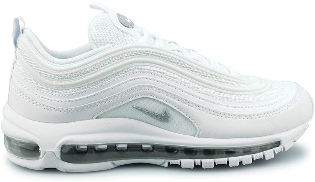 size 40 7b2c7 f8135 Nike Air MAX 97 (GS), Zapatillas para Hombre, (White/Wolf Grey/Black ...