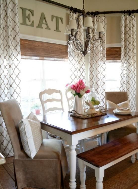 30 Best Farmhouse Dining Rooms Design and Decor Ideas Dining room