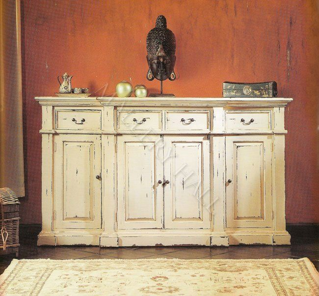 Presidential Mahogany Sideboard Buffet Cabinet
