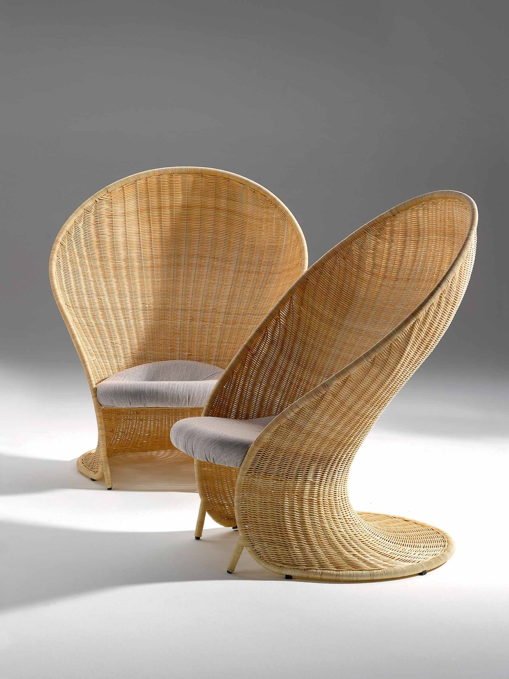 Foglia C Armchair Giovanni Travasa Bonacina1889 Bamboo Sofa