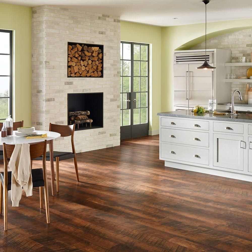 In wide x 47 6 in - Pergo Outlast Antique Cherry 10 Mm Thick X 6 1 8 In Wide X 47 1 4 In Length Laminate Flooring 16 12 Sq Ft Case Dark