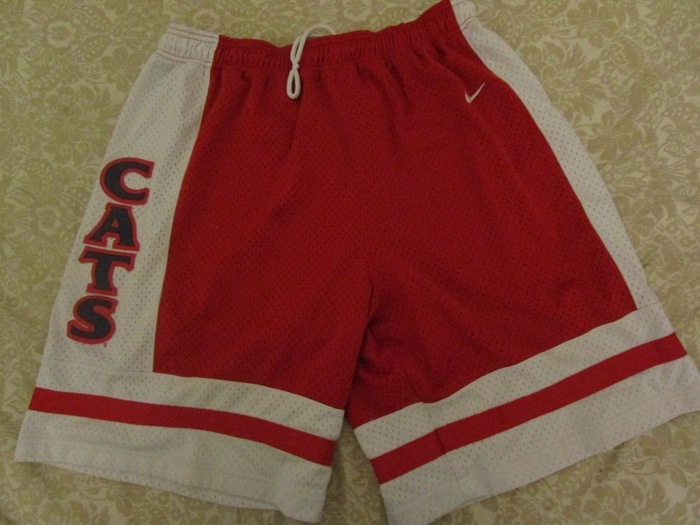 e74603cefb #Vintage NIKE #90s #CATS Athletic #Basketball #Team #GameUsed #Shorts M AAU  #Nike #Athletic