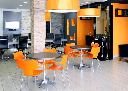 modern office color schemes. As People Spend More Time At Work, The Lines Between Home And Office Are Blurring, Leading To A Comforting Feel. Space Trends Inside. Modern Color Schemes C
