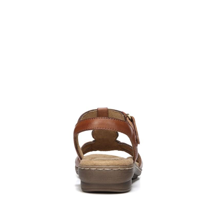 4103e0e37ba5 Soul Naturalizer Women s Belle Medium Wide Sandals (Saddle Tan) in ...