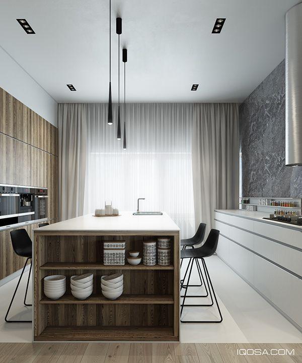 Minimalist interior design kitchen Pinterest Minimalist