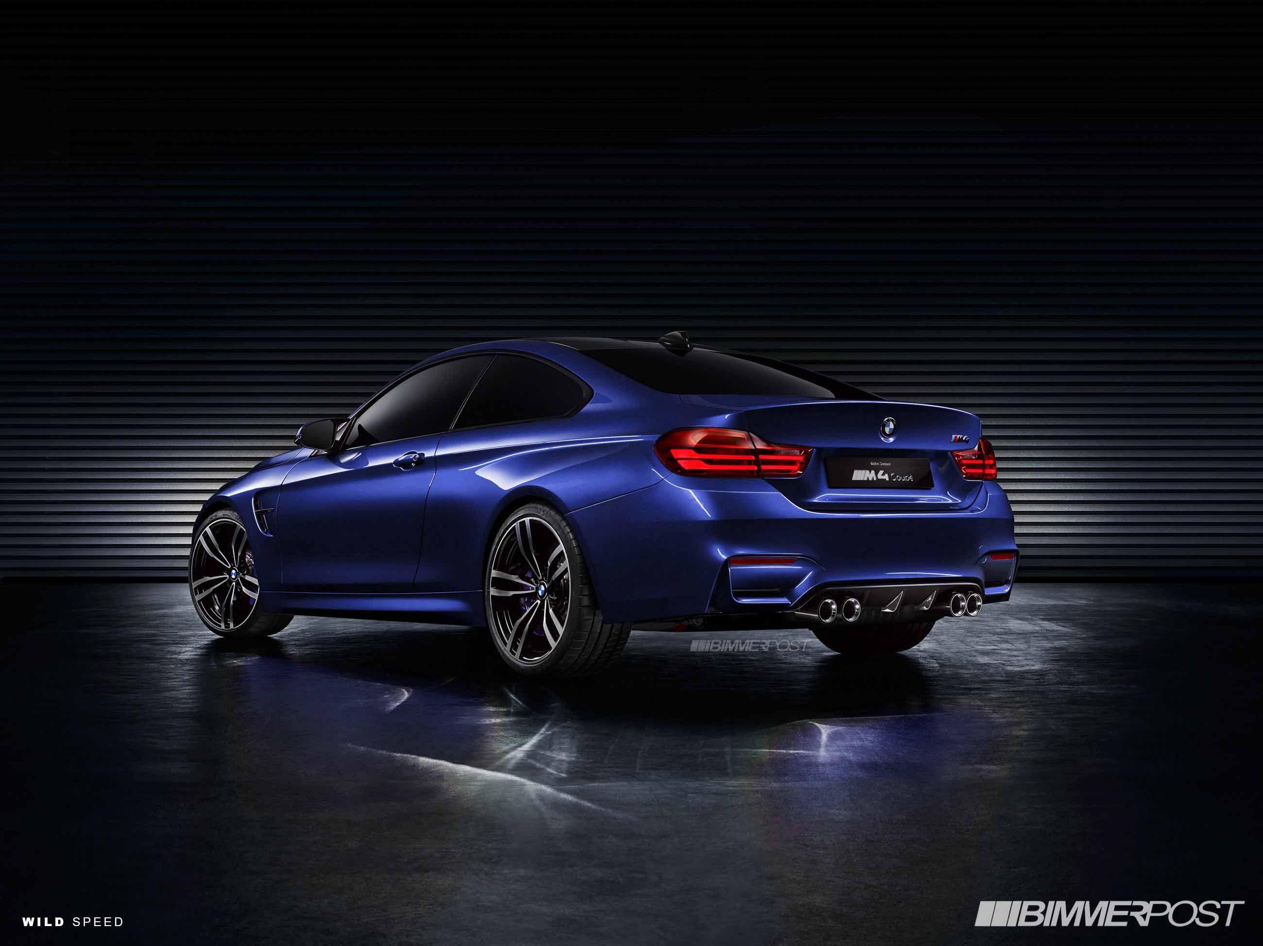 Bmw f32 m4 dark blue