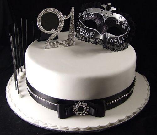Elegant 21st Cakes Birthday For Girls 21st Birthday Cakes For