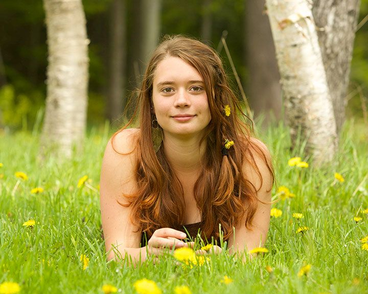 Portrait Photography 135mm Lens At F5 6 On A Full Frame
