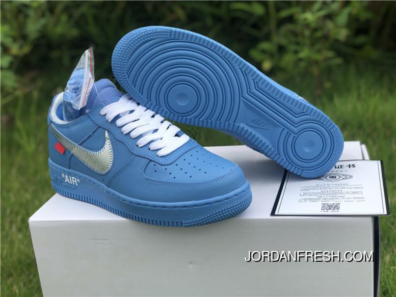 air force 1 x off white azul