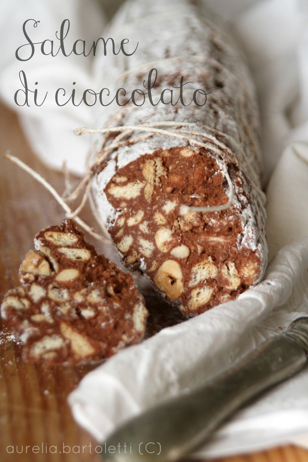 Profumi in cucina salame di cioccolato for the love of - Profumi in cucina ...