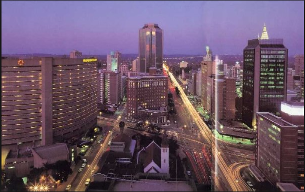 on Good Urban Governance in Harare City, Places
