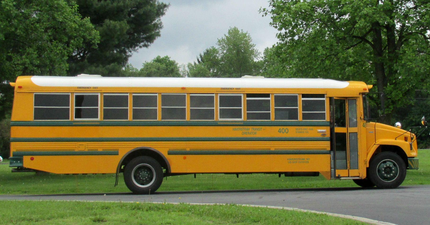 Haverstraw transit 400 school bus haverstraw bus