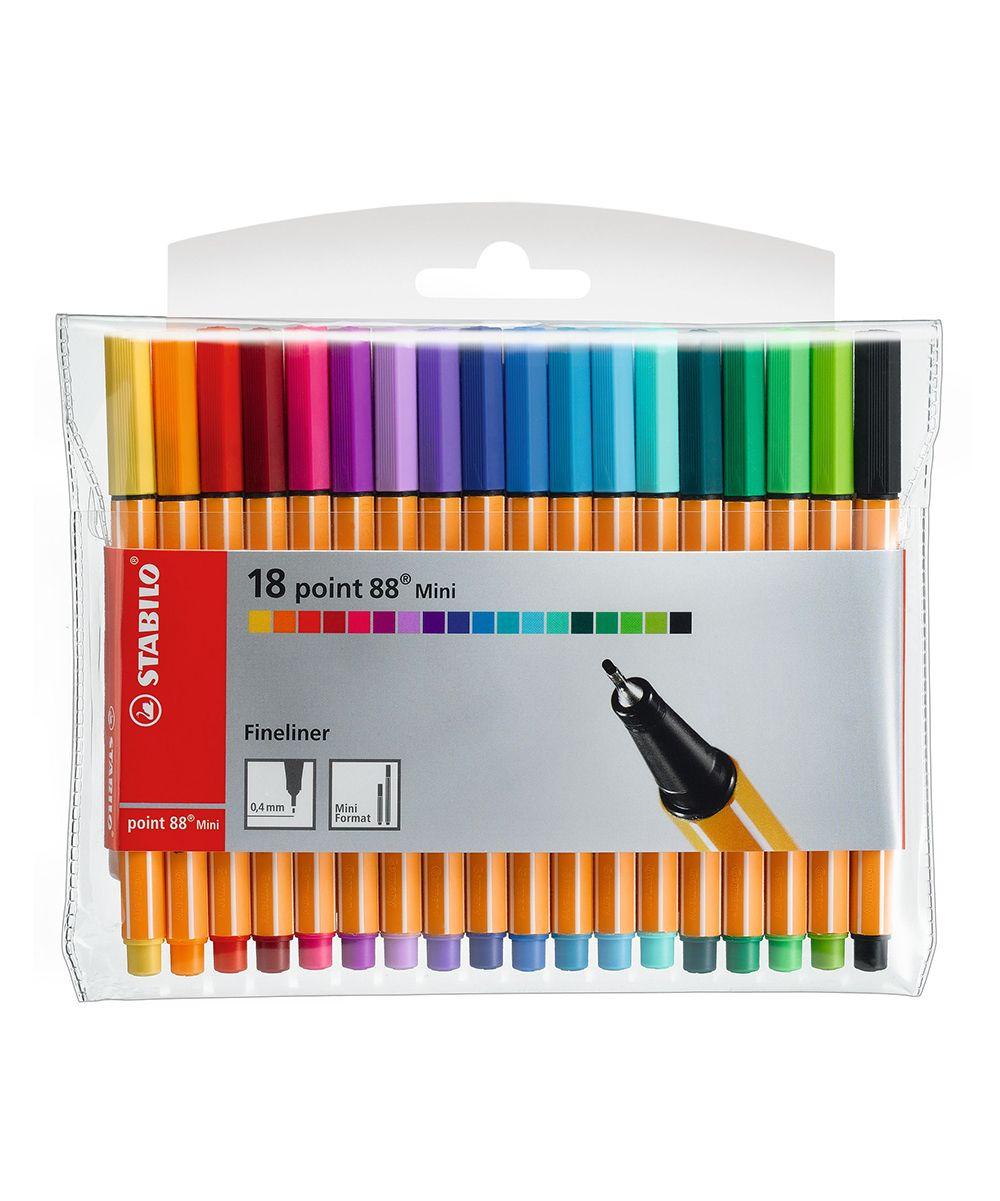 18-Piece Fineliner Pen Set