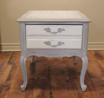 Silver Laced Table