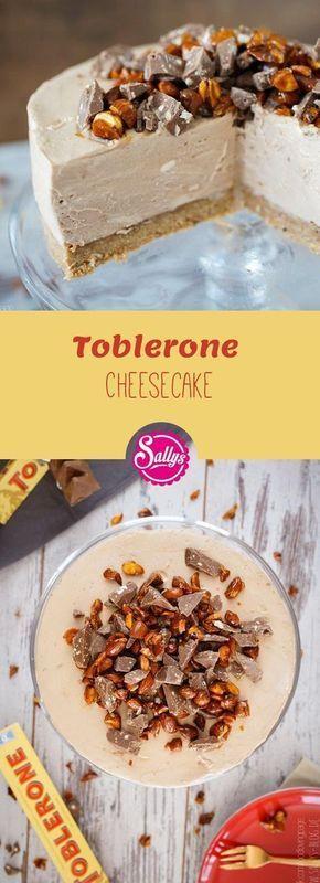 Schneller Cheesecake mit der Schweizer Toblerone Schokolade – aus dem Kühlschrank und ganz ohne Backen! #quickcookies