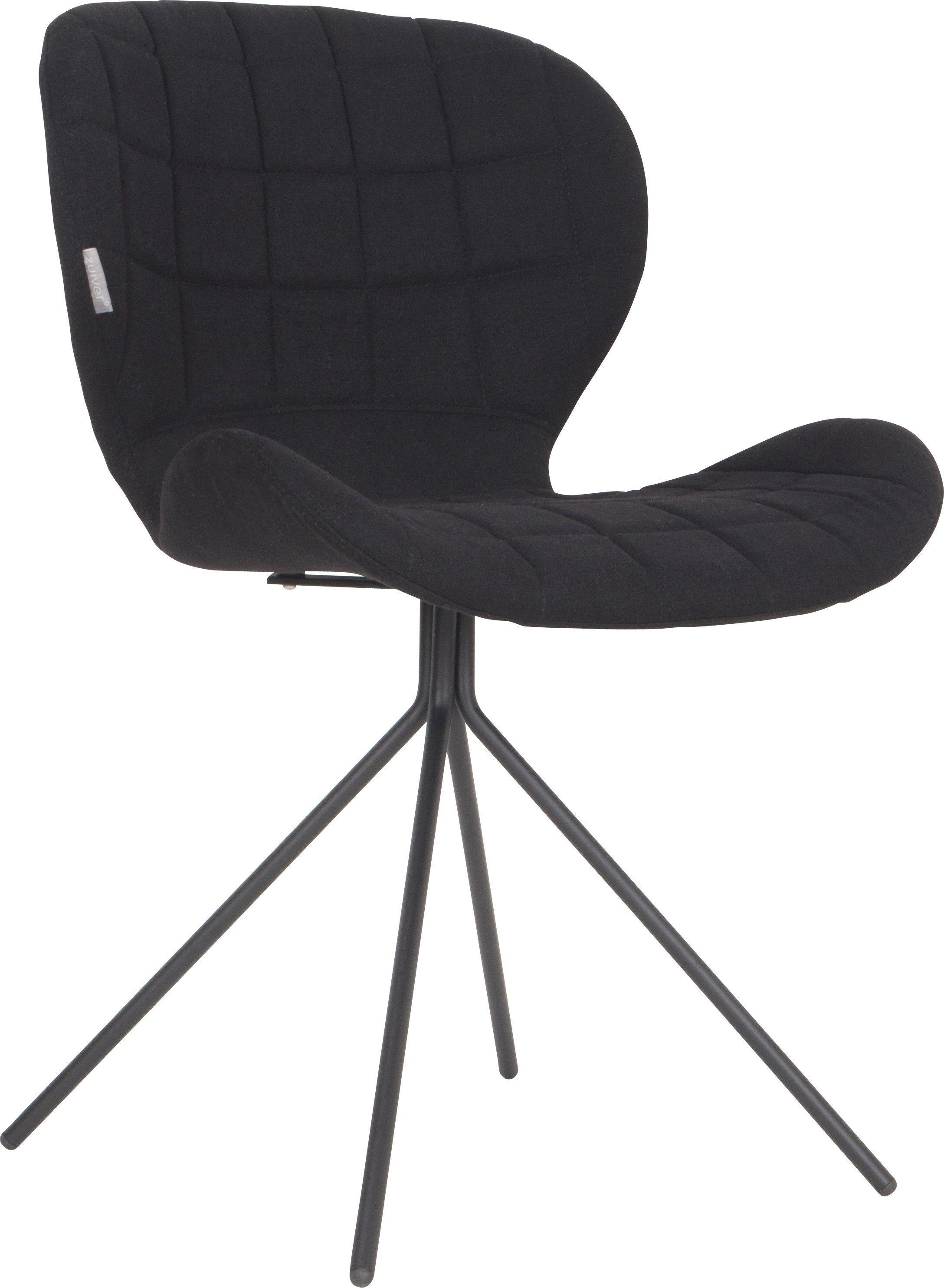 180€ Chaise Cocoon Noir | Mobilier de salon, Chaise design