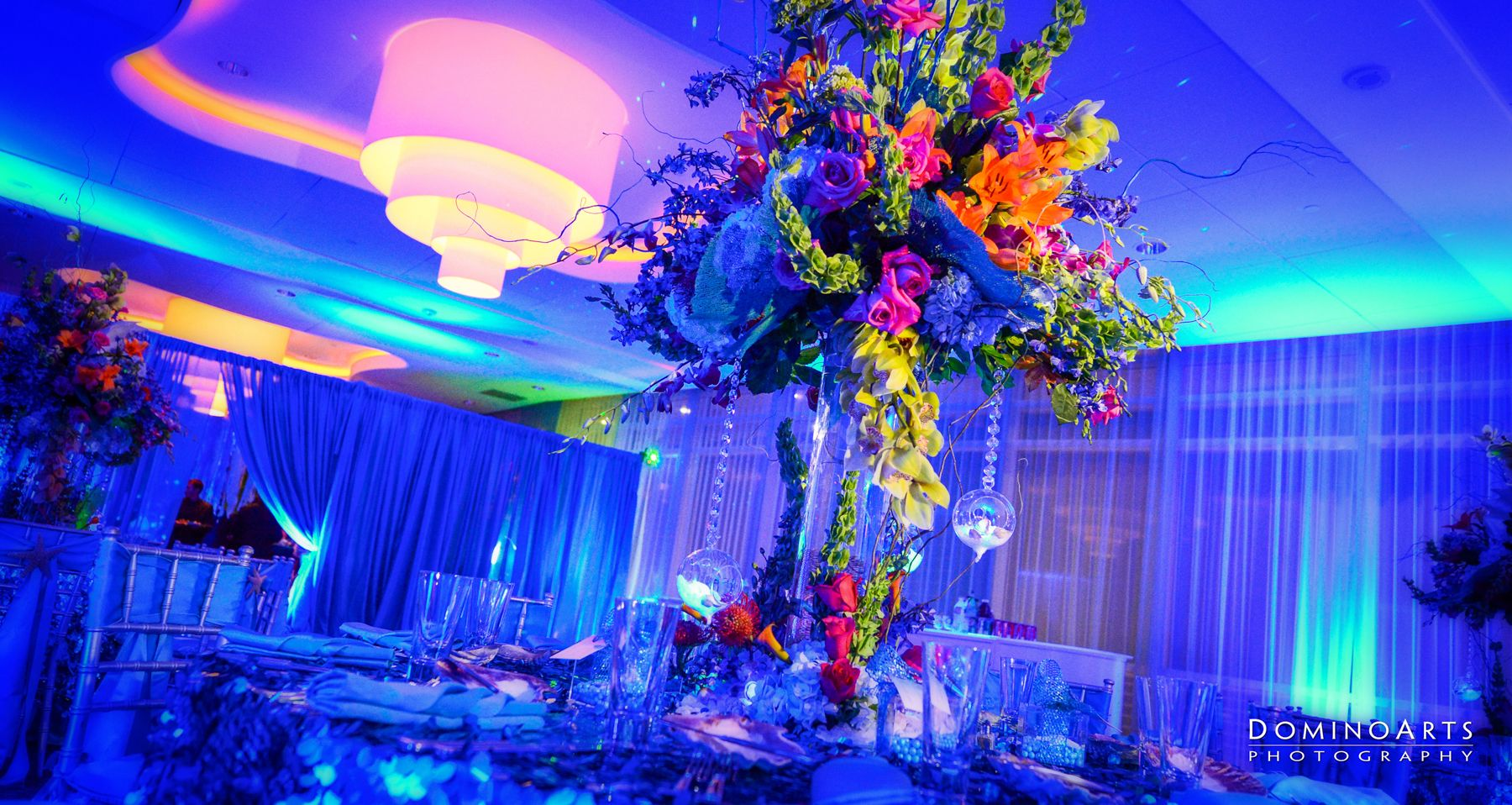 Bar mitzvah decor south florida mitzvah production by 84 west events - Miami Bat Mitzvah Danielle Guenther S Under The Sea Themed Party Domino Arts