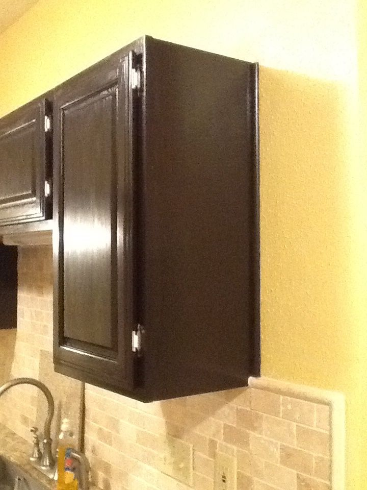 Java Gel Stain By General Finishes Redo Kitchen Cabinets Americana