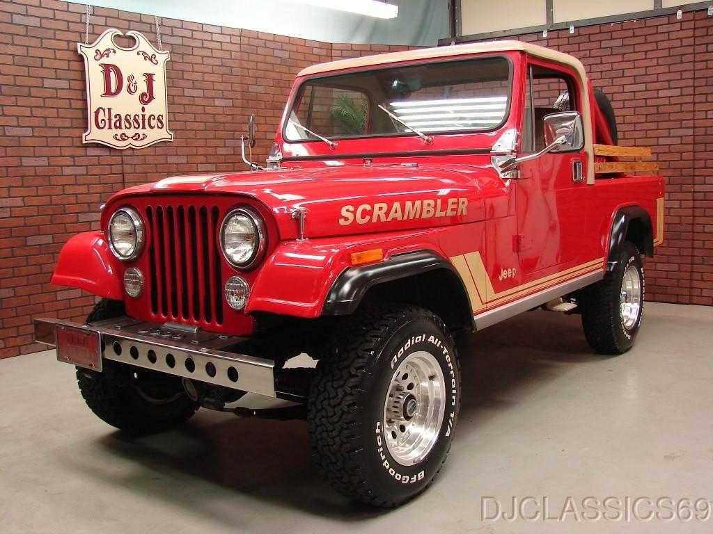 Jeep Scrambler Jeep Scrambler Jeep Cj Jeep