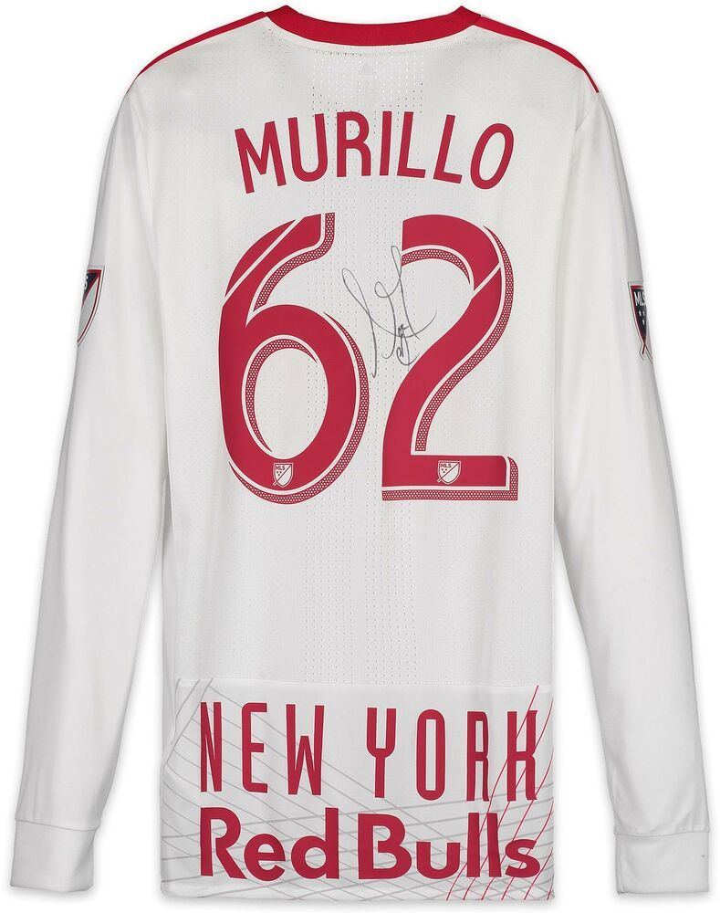 Autographed Michael Murillo Red Bulls Match Used Jersey
