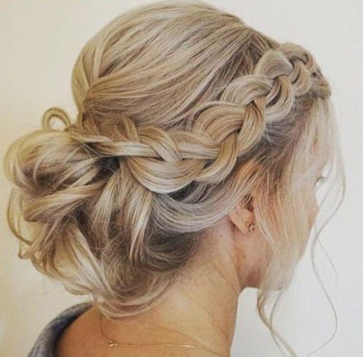 Beauty Hair Hairstyles Updo Weddinghairstyles Wedding Bridal