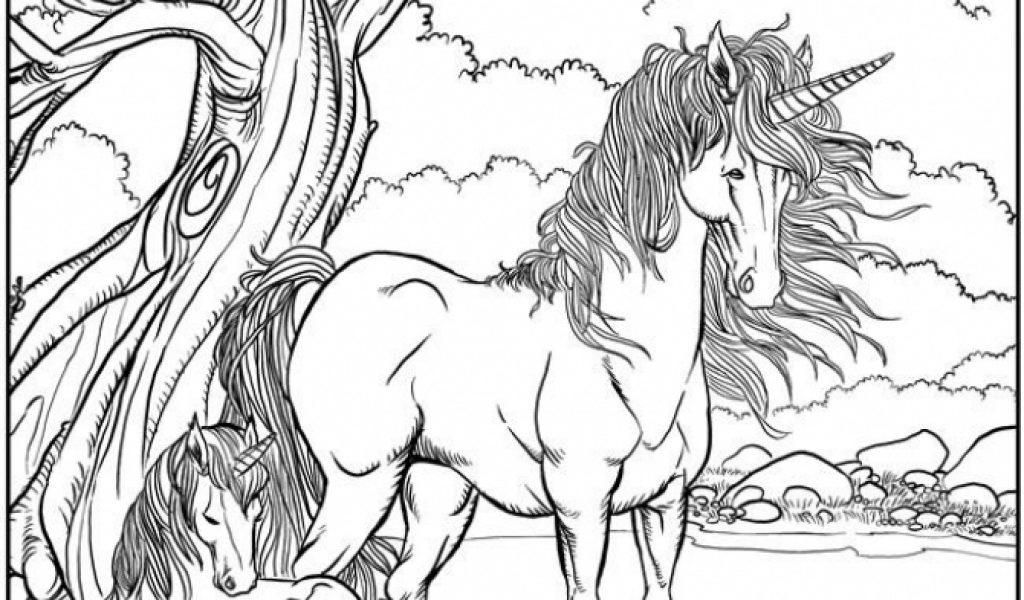 16 free printable unicorn coloring pages for adults in