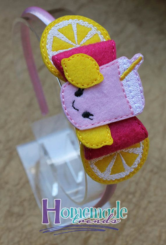 Pink Lemonade Bow Accessory-Lemonade Bow-Lemon by HomemadeTrends